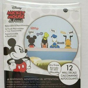 Disney Mickey & Friends Peel And Stick Wall Decals